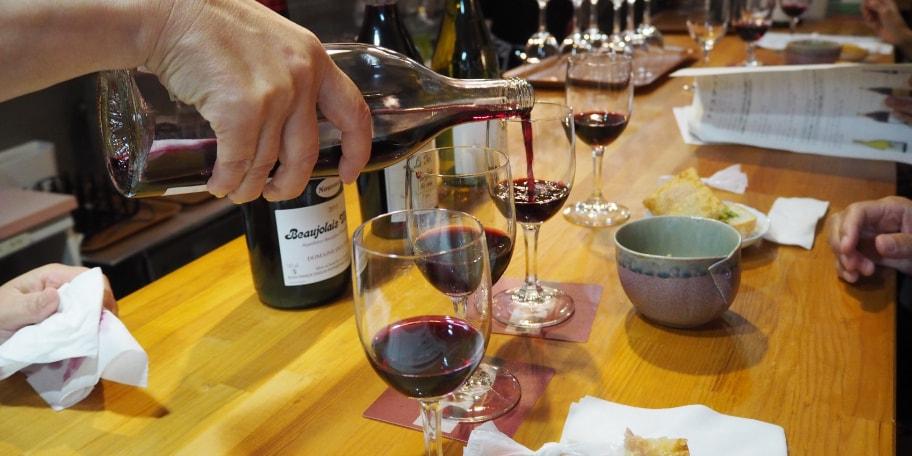 ワインの基本とボジョレーヌーヴォー