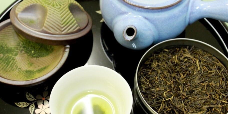 お茶をまるごと愉しむ 茶を使用した創作和菓子&利き茶体験