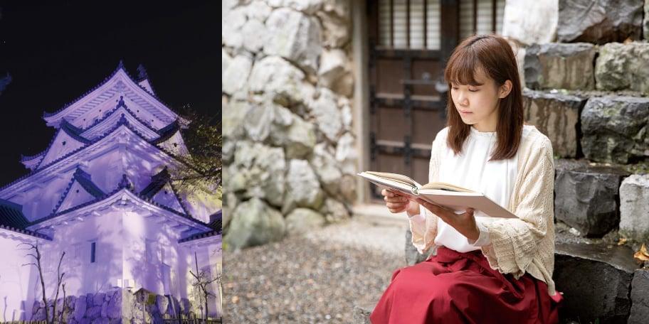 大垣城で聴く おそがい夜話